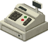 Example of a cash register found in in-game shops.