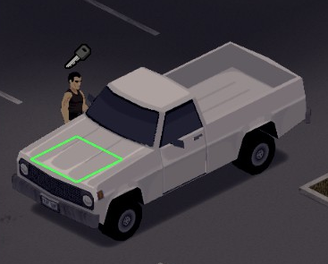 Player has the vehicle's key