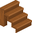Brown wooden stairs.png